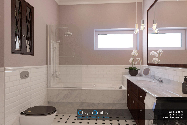 Санузел ванная умывальник классический дизайн зеркало душевая постирочная унитаз инсталляция мрамор керамогранит ретро дизайн