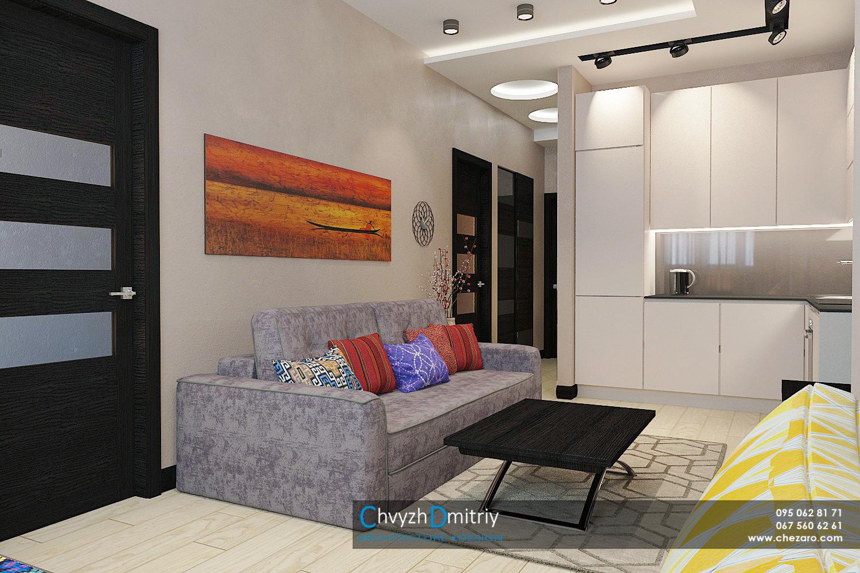 Кухня-гостиная Дизайн интерьера этно тектиль диван декор гостиная столовая кухня освещение свет