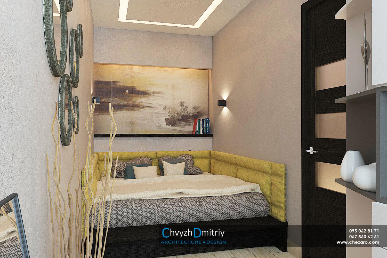 Спальня Спальня кровать панно дизайн текстиль декор