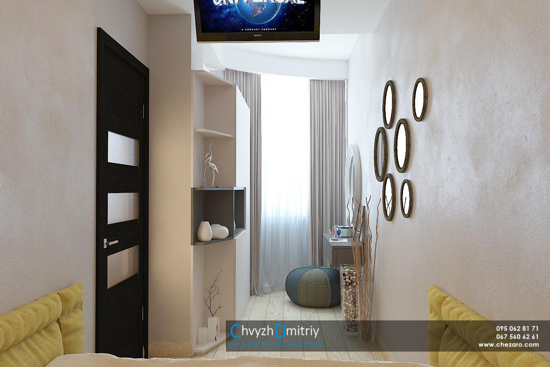 Спальня Спальня шкаф туалетный столик зеркало декор текстиль декоративная штукатурка