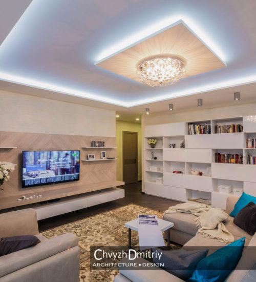 Гостиная холл диван кресло прихожая коридор шкаф полки система хранения шпонированные панели декор современный дизайн интерьер квартиры минимализм фьюжн дизайн гостиной