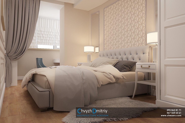 Спальня кровать классика неоклассика классическая мебель стеновые панели молдинг фриз зеркало тумбы туалетный столик кресло ковер шкаф