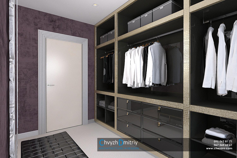 Гардеробная система хранения шкаф декор арт-деко артдеко классика спальня