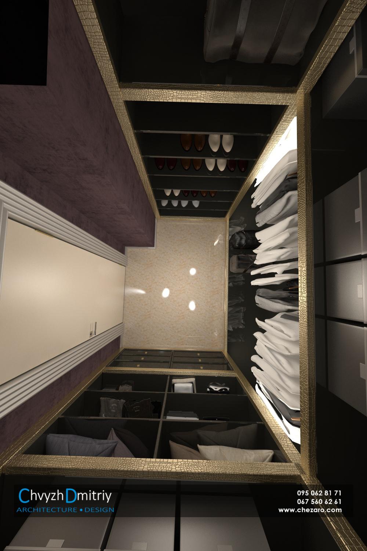 Гардеробная кладовая шкаф система хранения артдеко арт-деко классика